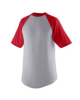 Augusta Sportswear 424 Youth Short-Sleeve Baseball Jersey