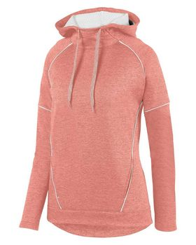 Augusta Sportswear 5556 Ladies Zoe Tonal Heather Hoodie
