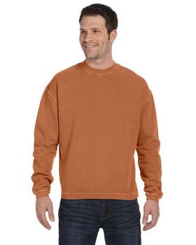 Authentic Pigment 11561 Men's 11 oz. Pigment-Dyed Ringspun Cotton Fleece Crew