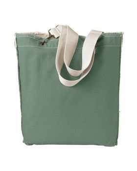Authentic Pigment 1906 Direct Dyed Raw Edge Tote