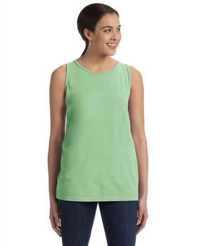 Authentic Pigment 1972 Women's 5.6 oz. Pigment-Dyed & Direct-Dyed Ringspun Tank