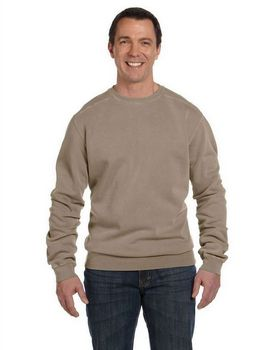 Authentic Pigment 1975 Men's 11 oz. Pigment-Dyed Fleece Crew