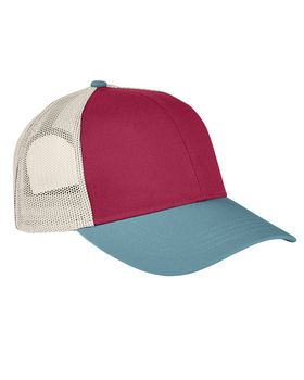 Authentic Pigment AP1919 Tri-Color Trucker Cap