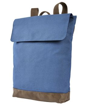 Authentic Pigment AP1922 Canvas Rucksack - Shop at ApparelGator.com