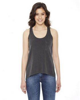 Authentic Pigment AP202W Ladies' Best Summer Pocket Tank