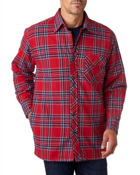 Backpacker BP7002 Men's Flannel Shirt Jacket