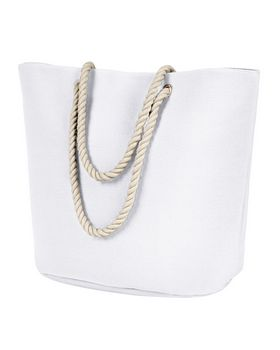 Bagedge BE256 Plolyester Canvas Rope Tote