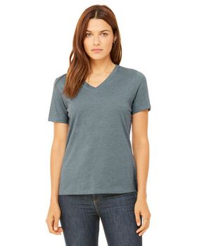 Bella + Canvas 6405 Ladies Missy's Relaxed Jersey V-Neck T-Shirt