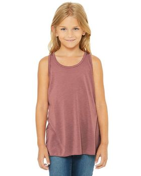 Bella + Canvas B8800Y Youth Racerback Tank