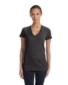 Bella + Canvas 8435 Ladies Tri-Blend Deep V-Neck