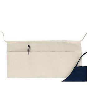 Big Accessories APR50 3 Pouch-Pocket Waist Apron