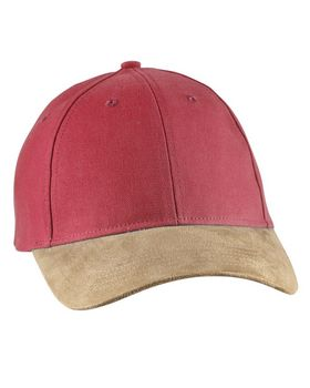 Big Accessories BA555 Suede Bill Cap - Shop at ApparelnBags.com