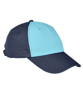 Big Accessories BA650 100% Washed Cotton Twill Baseball Cap