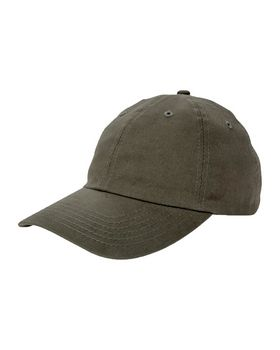 Big Accessories BX001 6-Panel Twill Unstructured Cap