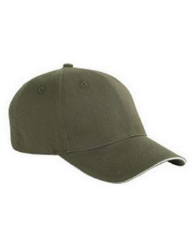 Big Accessories BX004 6-Panel Sandwich Baseball Cap