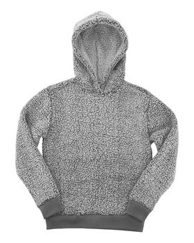 Boxercraft YQ15 Youth Sherpa Hoodie - Shop at ApparelnBags.com