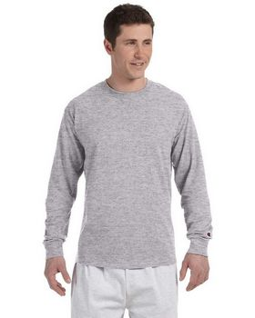Champion CC8C Men's Long-Sleeve Tagless T-Shirt