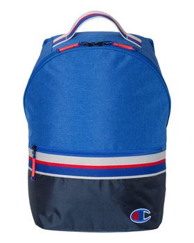 Champion CS1006 23L Striped Backpack - Shop at ApparelnBags.com