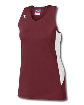 Champion L542 Womens Fast Break Double Dry Stretch Racerback Jersey