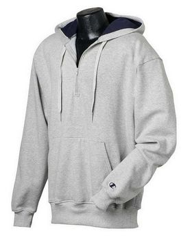 Champion S185 90/10 Cotton Max Quarter-Zip Hood