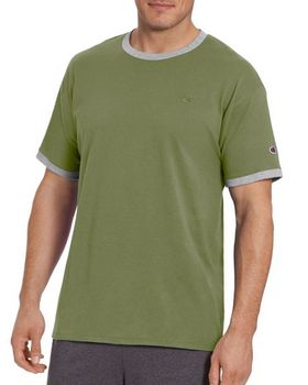 Champion T0220 Mens Classic Jersey Ringer Tee