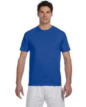 Champion T525C Men's Cotton Tagless Short Sleeve T-Shirt