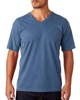Chouinard 4099 Adult Ring-Spun Cotton V-Neck Tee