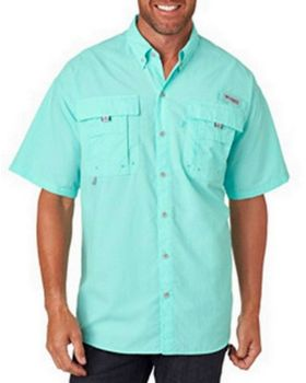 Columbia 7047 Mens Bahama II Short-Sleeve Shirt