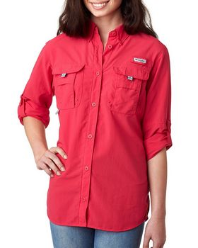Columbia 7314 Ladies Bahama Long-Sleeve Shirt