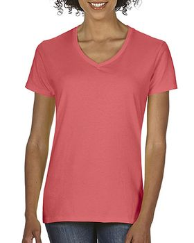 Comfort Colors C3199 Ladies Midweight RS V-Neck T-Shirt