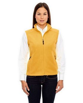 Core365 78191 Journey Ladies Fleece Vest - Shop at ApparelnBags.com