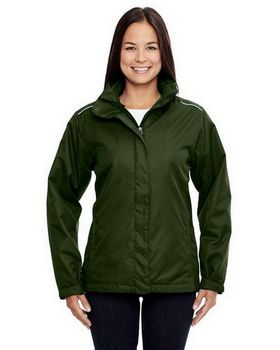 Core365 78205 Region Ladies 3 In 1 Jacket with Fleece Liner