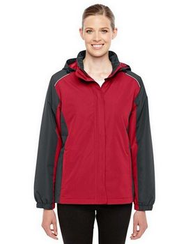 Core365 78225 Ladies Inspire Colorblock All-Season Jacket