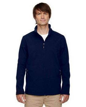 Core365 88184T Cruise Mens Tall 2 Layer Fleece Bonded Soft Shell Jacket