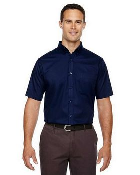 Core365 88194T Optimum Mens Short Sleeve Twill Shirt