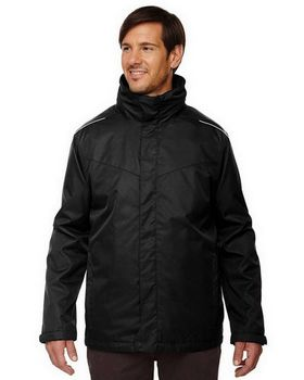 North End 88205T Region Mens Tall 3-in-1 Jacket
