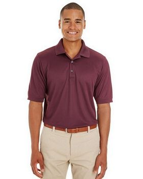 Core365 CE100 Mens Pilot Textured Ottoman Polo