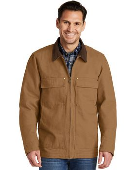 Cornerstone CSJ50 Mens Washed Duck Cloth Chore Coat