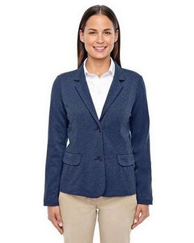 Devon & Jones D886W Women's Fairfield Herringbone Soft Blazer