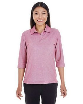Devon & Jones DG220W Ladies Oxford Pique Polo