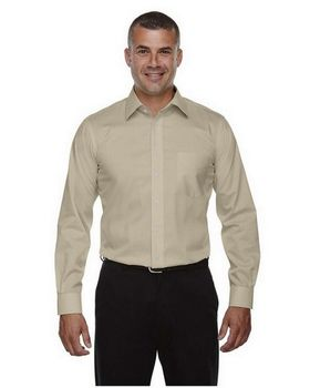 Devon & Jones DG530T Mens Tall Crown Collection Solid Stretch Twill Shirt