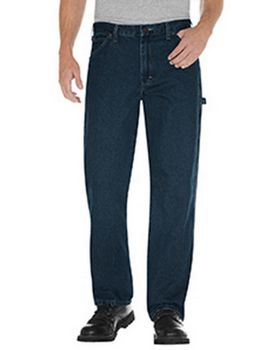 Dickies 19294 Unisex Relaxed Fit Stonewashed Carpenter Denim Jean Pant