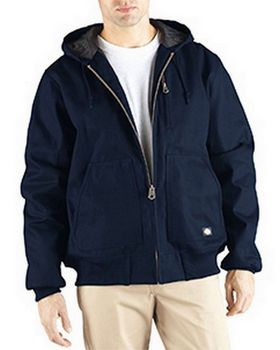 Dickies TJ718T Men's Rigid Duck Hooded Jacket