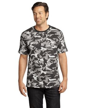District DT104C Short Sleeve Camo Perfect Tee