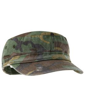 District DT605 Distressed Military Hat - Shop at ApparelnBags.com