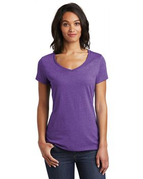 District DT6503 Womens Very Important Tee V-Neck