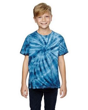 Dyenomite 365BCY Youth Cyclone Tie Dyed T-Shirt