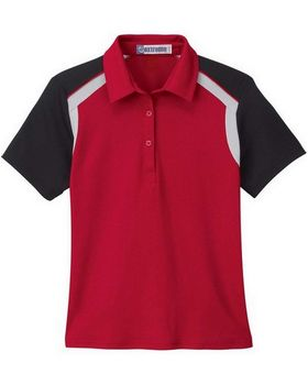Extreme 75065 Ladies Edry Color Block Polo