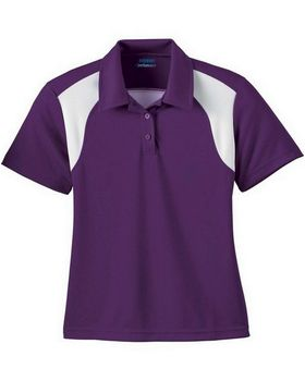 Extreme 75066 Ladies Eperformance Color Block Textured Polo