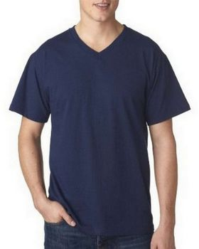 Fruit of the Loom 3930V Adult Heavy Cotton HD V-Neck T-Shirt